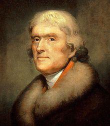 Thomas Jefferson Headshot